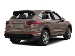 Umber Metallic 2016 Porsche Cayenne Pictures Cayenne Utility 4D AWD V6 T-Diesel photos rear view