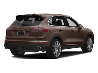 Umber Metallic 2016 Porsche Cayenne Pictures Cayenne Utility 4D AWD V8 Turbo photos rear view