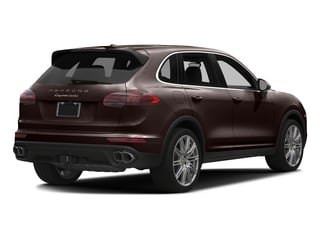 Mahogany Metallic 2016 Porsche Cayenne Pictures Cayenne Utility 4D AWD V8 Turbo photos rear view