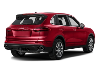 Carmine Red 2016 Porsche Cayenne Pictures Cayenne Utility 4D S AWD V6 Turbo photos rear view