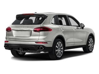White 2016 Porsche Cayenne Pictures Cayenne Utility 4D S AWD V6 Turbo photos rear view