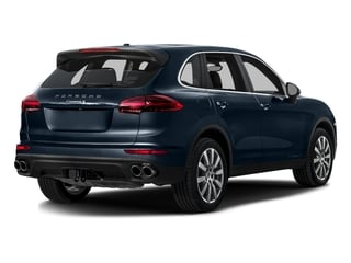 Moonlight Blue Metallic 2016 Porsche Cayenne Pictures Cayenne Utility 4D S AWD V6 Turbo photos rear view