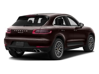 Mahogany Metallic 2016 Porsche Macan Pictures Macan Utility 4D AWD V6 Turbo photos rear view