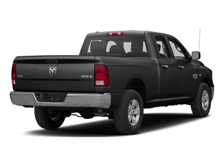 Brilliant Black Crystal Pearlcoat 2016 Ram Truck 1500 Pictures 1500 Quad Cab Express 2WD photos rear view