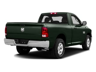 Black Forest Green Pearlcoat 2016 Ram Truck 1500 Pictures 1500 Regular Cab SLT 4WD photos rear view