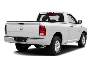 Bright White Clearcoat 2016 Ram Truck 1500 Pictures 1500 Regular Cab SLT 2WD photos rear view