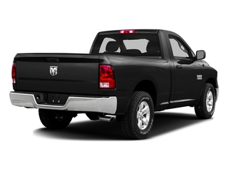 Black Clearcoat 2016 Ram Truck 1500 Pictures 1500 Regular Cab SLT 2WD photos rear view