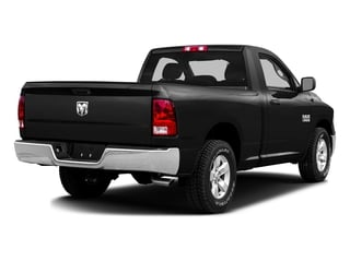 Brilliant Black Crystal Pearlcoat 2016 Ram Truck 1500 Pictures 1500 Regular Cab SLT 2WD photos rear view