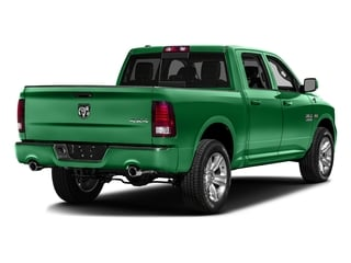 Bright Green 2016 Ram Truck 1500 Pictures 1500 Crew Cab Outdoorsman 4WD photos rear view