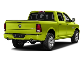 National Safety Yellow 2016 Ram Truck 1500 Pictures 1500 Crew Cab Outdoorsman 4WD photos rear view