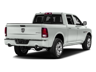 Bright White Clearcoat 2016 Ram Truck 1500 Pictures 1500 Crew Cab Outdoorsman 4WD photos rear view