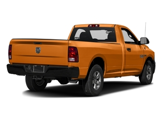 Omaha Orange 2016 Ram Truck 1500 Pictures 1500 Regular Cab Express 2WD photos rear view