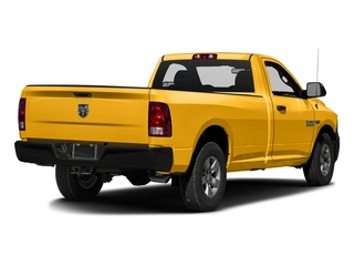 Construction Yellow 2016 Ram Truck 1500 Pictures 1500 Regular Cab Express 2WD photos rear view