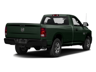 Black Forest Green Pearlcoat 2016 Ram Truck 1500 Pictures 1500 Regular Cab Express 2WD photos rear view