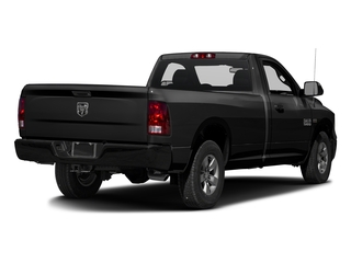 Brilliant Black Crystal Pearlcoat 2016 Ram Truck 1500 Pictures 1500 Regular Cab Express 2WD photos rear view