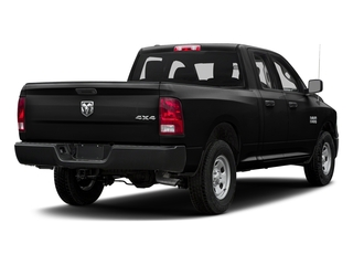 Black Clearcoat 2016 Ram Truck 1500 Pictures 1500 Quad Cab Tradesman 2WD photos rear view