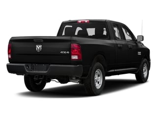 Brilliant Black Crystal Pearlcoat 2016 Ram Truck 1500 Pictures 1500 Quad Cab Tradesman 2WD photos rear view