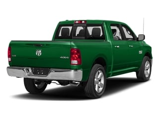 Bright Green 2016 Ram Truck 1500 Pictures 1500 Crew Cab SLT 2WD photos rear view