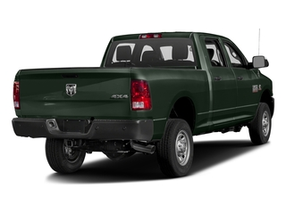 Black Forest Green Pearlcoat 2016 Ram Truck 2500 Pictures 2500 Crew Cab Tradesman 2WD photos rear view