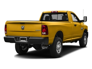 School Bus Yellow 2016 Ram Truck 3500 Pictures 3500 Regular Cab SLT 2WD photos rear view