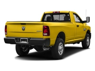Detonator Yellow Clearcoat 2016 Ram Truck 3500 Pictures 3500 Regular Cab SLT 2WD photos rear view