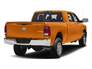 Omaha Orange 2016 Ram Truck 3500 Pictures 3500 Mega Cab SLT 4WD photos rear view