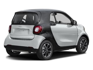 Moon White (matte) 2016 smart fortwo Pictures fortwo Coupe 2D Pure I3 photos rear view