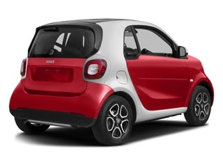 Stoplight Red 2016 smart fortwo Pictures fortwo Coupe 2D Proxy I3 photos rear view