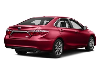 Ruby Flare Pearl 2016 Toyota Camry Hybrid Pictures Camry Hybrid Sedan 4D SE I4 Hybrid photos rear view