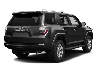 Midnight Black Metallic 2016 Toyota 4Runner Pictures 4Runner Utility 4D SR5 2WD V6 photos rear view