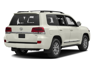 Blizzard Pearl 2016 Toyota Land Cruiser Pictures Land Cruiser Utility 4D 4WD V8 photos rear view