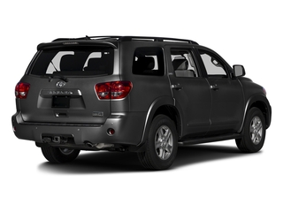 Magnetic Gray Metallic 2016 Toyota Sequoia Pictures Sequoia Utility 4D SR5 2WD V8 photos rear view