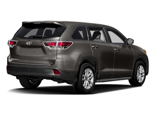 Predawn Gray Mica 2016 Toyota Highlander Pictures Highlander Utility 4D LE 2WD I4 photos rear view