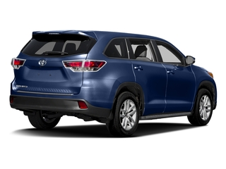 Nautical Blue Metallic 2016 Toyota Highlander Pictures Highlander Utility 4D LE 2WD I4 photos rear view