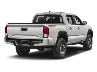 Super White 2016 Toyota Tacoma Pictures Tacoma TRD Off-Road Crew Cab 2WD V6 photos rear view