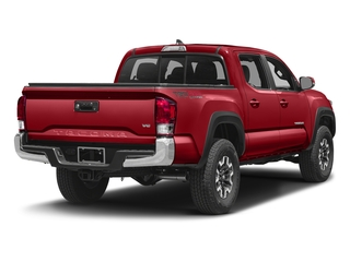 Barcelona Red Metallic 2016 Toyota Tacoma Pictures Tacoma TRD Off-Road Crew Cab 2WD V6 photos rear view