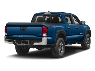 Blazing Blue Pearl 2016 Toyota Tacoma Pictures Tacoma TRD Off-Road Crew Cab 2WD V6 photos rear view