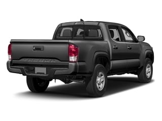 Magnetic Gray Metallic 2016 Toyota Tacoma Pictures Tacoma SR Crew Cab 4WD V6 photos rear view