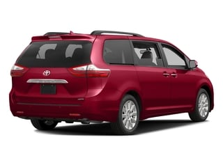 Salsa Red Pearl 2016 Toyota Sienna Pictures Sienna Wagon 5D XLE AWD V6 photos rear view
