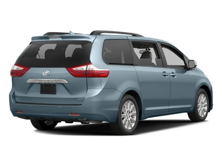 Sky Blue Pearl 2016 Toyota Sienna Pictures Sienna Wagon 5D XLE AWD V6 photos rear view