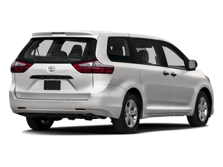 Super White 2016 Toyota Sienna Pictures Sienna Wagon 5D L V6 photos rear view