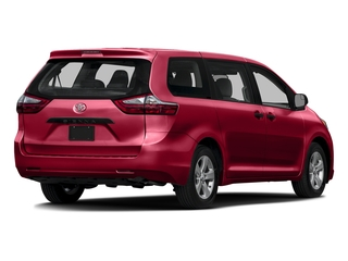 Salsa Red Pearl 2016 Toyota Sienna Pictures Sienna Wagon 5D L V6 photos rear view