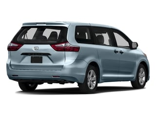 Sky Blue Pearl 2016 Toyota Sienna Pictures Sienna Wagon 5D L V6 photos rear view