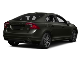 Savile Gray Metallic 2016 Volvo S60 Pictures S60 Sedan 4D T6 Platinum Drive-E Turbo photos rear view