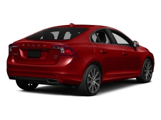 Flamenco Red Metallic 2016 Volvo S60 Pictures S60 Sedan 4D T6 Platinum Drive-E Turbo photos rear view
