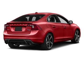 Passion Red 2016 Volvo S60 Pictures S60 Sedan 4D T6 R-Design AWD I6 Turbo photos rear view