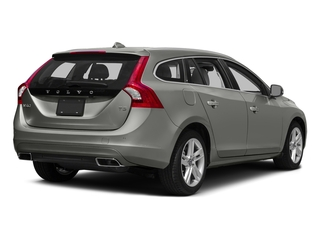 Bright Silver Metallic 2016 Volvo V60 Pictures V60 Wagon 4D T5 Premier AWD Turbo photos rear view