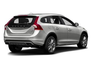 Bright Silver Metallic 2016 Volvo V60 Cross Country Pictures V60 Cross Country Wagon 4D T5 AWD I5 Turbo photos rear view