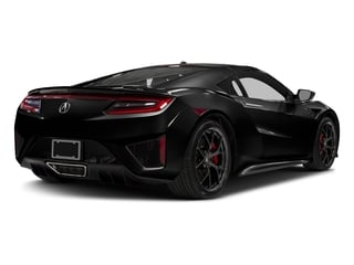 Berlina Black 2017 Acura NSX Pictures NSX Coupe 2D AWD V6 Hybrid Turbo photos rear view