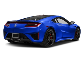 Nouvelle Blue Pearl 2017 Acura NSX Pictures NSX Coupe 2D AWD V6 Hybrid Turbo photos rear view